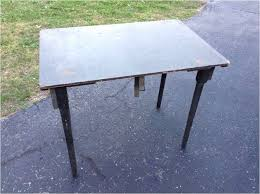 rustic high top table folding high top table design elegant rustic metal desk military