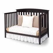 Black 4 In 1 Convertible Crib Delta Children Gateway 4 In 1 Convertible Crib Black Walmart
