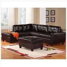 global furniture bonded leather sofa global furniture usa 5190 2 piece bonded leather sectional sofa in
