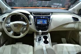 nissan murano interior 2015 nissan murano dashboard at 2014 new york auto show indian