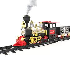 amazon com mota classic toy train with real smoke u2013 signature