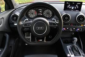 Audi S3 Interior For Sale 2015 Audi S3 Test Drive