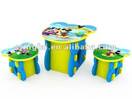 bureau mickey table et chaise mickey