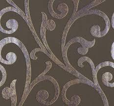 Wohnzimmer Beige Silber Streifen Tapete Edem 097 23 Vinyltapete Designer Tapete Prunkvolle