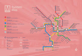 Dc Map Metro Washington D C Map U2013 Erin Hollen
