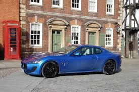 blue maserati granturismo maserati granturismo sport mc shift auto road test petroleum vitae