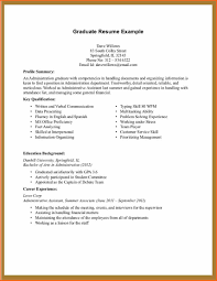 Job Description Resume Intern by Resume For Working Student Resume For Your Job Application