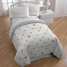 Mickey And Minnie Comforter Disney Minnie Twin Full Comforter In Gold Dots Bed Bath U0026 Beyond