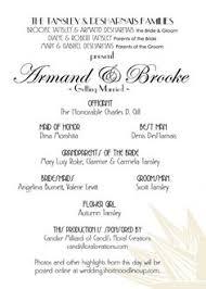 Playbill Wedding Programs Playbill Style Invitations Invitation Templates Invitations