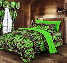 Orange Camo Bed Set Orange Camo Bedding King And Curtains Distinctive Camo Bedding