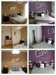 chambre gris et violet photos d une chambre parentale relookée en gris et violet