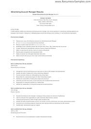 resume sles for advertising account executive description advertising account manager resume