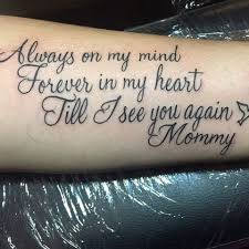 rip mom tattoos for daughter 1fc0feb186849d852210dbe0c111fbcd