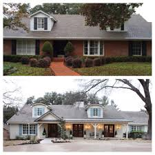 fixer upper ranch bricks and exterior