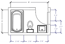 how to design a bathroom floor plan small bathroom floor plans this is the exact size of our tiny