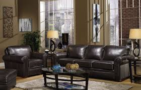 Cool Living Room Chairs Decorating Cool Living Room Design Using Brown Sofa By