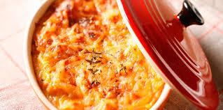 cuisiner de la courge gratin de courge facile et pas cher recette sur cuisine actuelle