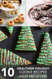 10 healthier holiday cookie recipes under 135 calories myfitnesspal