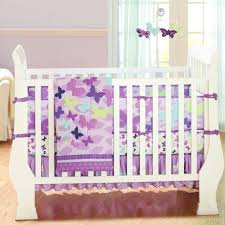Purple Bedding For Cribs Purple Butterfly Crib Bedding All Modern Home Designs Gorgeous