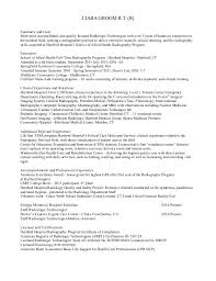 Sample Resume For Radiologic Technologist by 100 Radiology Resume Medical Technologist Resume