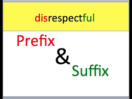 changing words prefix and suffix youtube