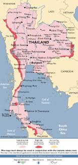 map of thailand thailand malaria map fit for travel