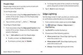 edge lighting change color custom people edge colors android forums at androidcentral com