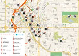 Colorado Maps by Free Printable Map Of Denver Attractions Free Tourist Maps