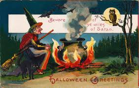 halloween greeting cards free vintage clip art images vintage halloween greeting cards