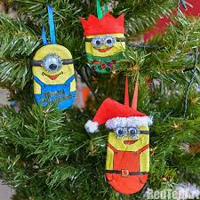 diy minions ornaments with despicable me 3 ted s