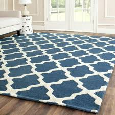safavieh cambridge navy blue ivory 9 ft x 12 ft area rug cam121g