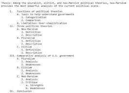 an example of chronological order b 6 2 topic and sentence outlines which type of outline is