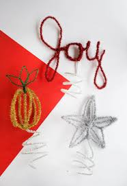 Homemade Christmas Tree Ornaments by Easy Diy Christmas Tree Toppers U2013 A Beautiful Mess