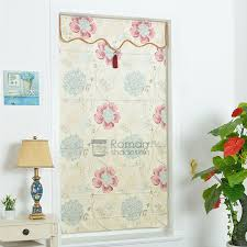 what is floral pattern in french best flat shaped floral pattern print french door roman shade with