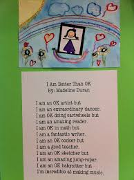 3rd grade writing paper writing list poems that are better than ok scholastic okpoemmadeline okpoemivan