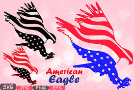 Eagle American Flag American Flag Svg Eagle Usa By Hamhamart Thehungryjpeg Com