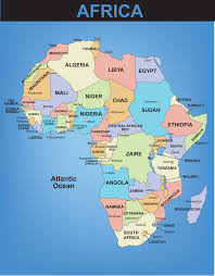 African Countries Map Tallest Mountain In Africa Of Cameroon In The Heart Of