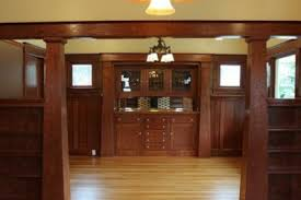 6 craftsman dining room paneling craftsman style dining room