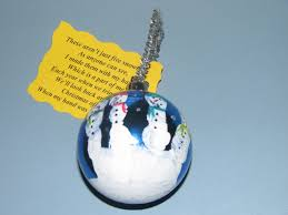 child u0027s handprint turned snowmen ornament have to do this with my