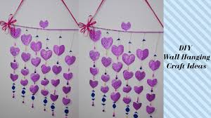 paper craft for home decoration diy wall hanging craft ideas using colour paper for teenagers
