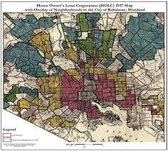 Baltimore City Map Baltimore Shows How Historic Segregation Shapes Biased Policing