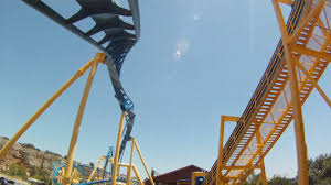 The Goliath Six Flags Goliath On Ride Front Seat Hd Pov Six Flags Fiesta Texas Youtube