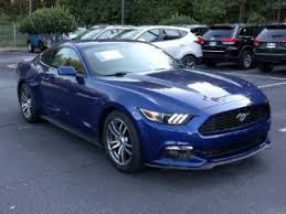 blue mustang blue ford mustang for sale carmax