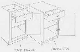 framed vs frameless cabinets choosing true grain cabinetry
