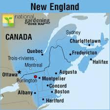 Gardening Zones Canada - boston garden zone