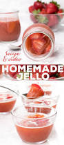 easy homemade jello style gelatin with just two ingredients