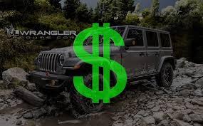 base model jeep wrangler price source 2500 base price increase for 2018 wrangler jl jlu