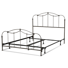 amazon com affinity complete bed with metal spindle panels and