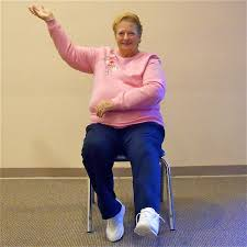 Chair Exercises For Seniors Chair Aerobics Seniors Fitness Youthful Hearts