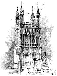 Medieval Cathedral Floor Plan The Project Gutenberg Ebook Of The Cathedral Church Of Gloucester